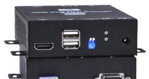 Extensor KVM 4K a 18Gbps para HDMI