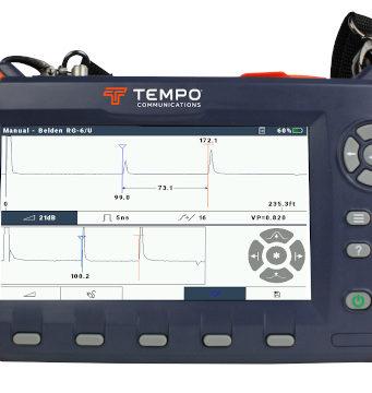 Tester de cables TDR