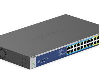 Switches Gigabit no gestionados para instalaciones PoE+ y PoE++