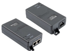 Inyectores PoE intermedios de 10 Gbps