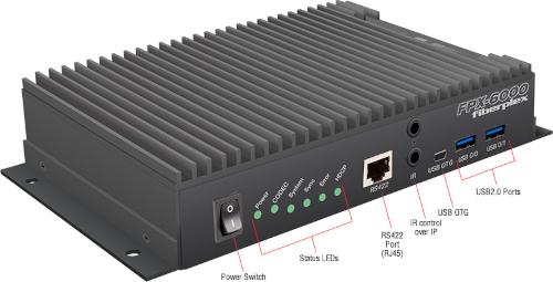 Gateway AVoIP FPX6000 con capacidad PoE