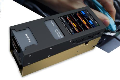 El comprobador portátil de HDBaseT MS-TestPro permite verificar la integridad y la estabilidad de cualquier infraestructu-ra de cable.