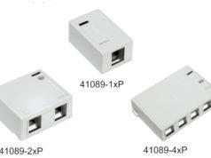 Cajas QuickPort de montaje superficial para conectorización