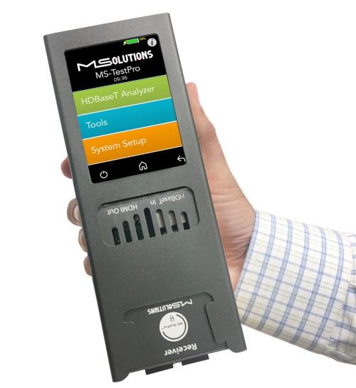 MS-TestPro Tester para HDBaseT ampliable