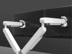 "ZGx, Brazos ergonómicos para monitores de hasta 34"""