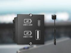 módulos de conexión USB para mesa