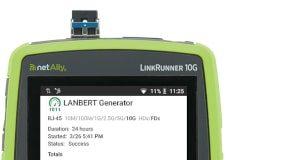 LANBERT Aplicación para pruebas de cableado de red Multi-Gig/10Gbps