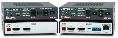 Escaladores DSC 401 a 4K/60 fps