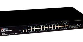 Vi3326 Switch gestionado L2+ para cámaras de seguridad IP