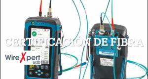 Curso de certificación de enlaces de fibra óptica