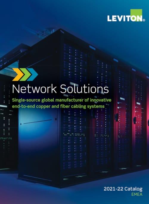 Catálogo de soluciones para redes 2021