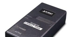 Inyector PoE+ de un solo puerto multigigabit POE-165