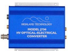 Conversor de óptico a eléctrico de alto voltaje J736