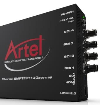 Gateway SDI-a-SMPTE FiberLink ST 2110