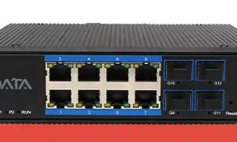 Switch Ethernet PoE gestionado CI4084GS-POE
